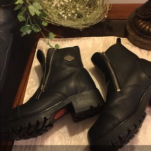 Ladies Genuine Leather Harley-Davidson Boots